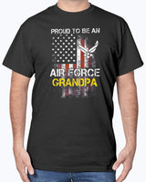 Proud to be an Air Force Grandpa T-shirts