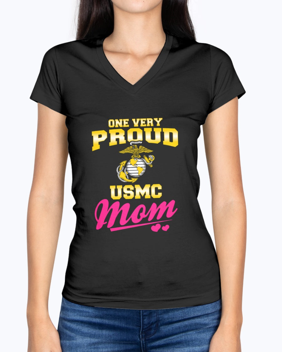 One Very Proud Marine Mom T-shirts