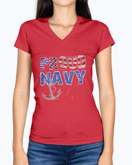 Navy Mom Distress Flag T-shirts