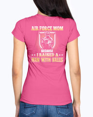 Air Force Mom Man with Balls T-shirts