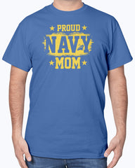 US Navy Mom Grunge T-shirts