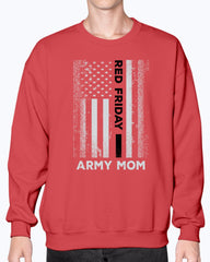 RED Friday Army Mom Flag T-shirts