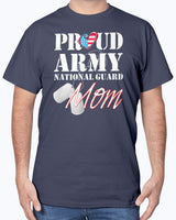 Army National Guard Mom Patriot T-shirts