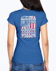 Proud Navy Mom Sacrifice T-shirts