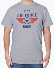 US Air Force Mom Wings T-shirts