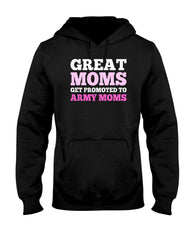 Promoted Army Mom T-shirts