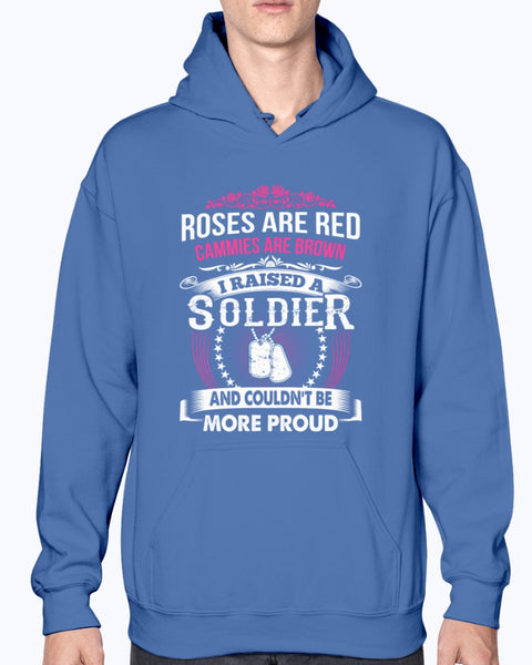 Proud Army Mom Roses Are Red T-shirts