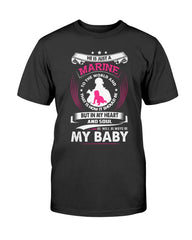 Always My Baby Marine Mom T-shirts