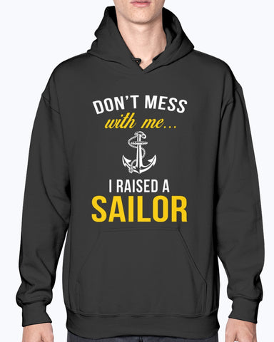 Proud Navy Mom Don't Mess T-shirts