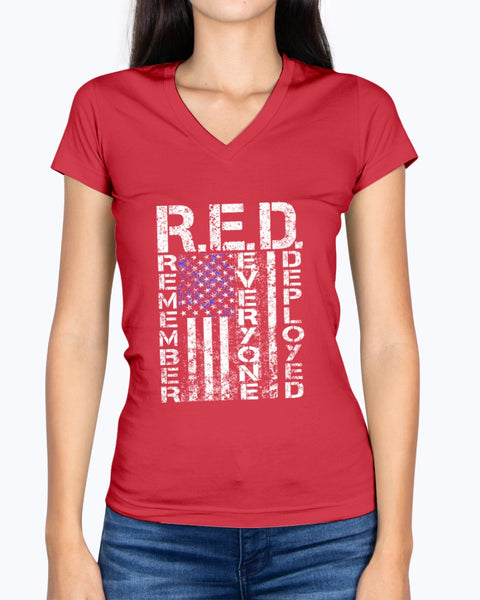 Vintage RED Friday Flag T-shirts