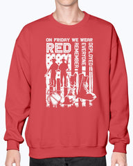 On Friday We Wear Red Support T-shirts