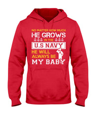 No Matter How Much Navy Mom T-shirts