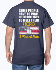 Proud Army Mom Raised Hero T-shirts
