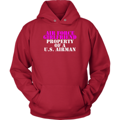 Air Force Girlfriend - Property of a U.S. Airman