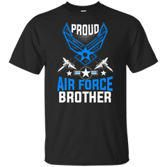 Proud Air Force Brother Jet Fighter T-shirts