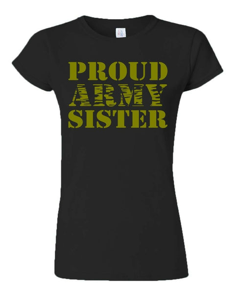 Proud Army Sister T-shirts
