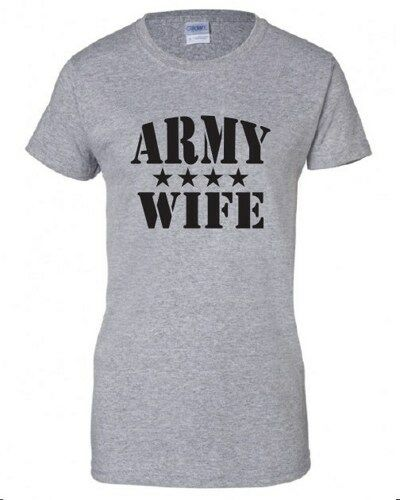 US Army Wife T-shirts