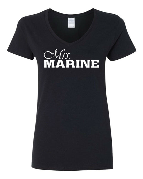 Mrs. MARINE Wife T-shirts