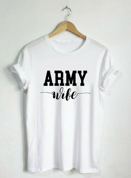 Army Wife Cute T-shirts