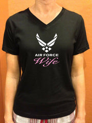 Air Force Wife Logo T-shirts