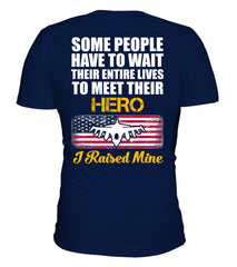 Air Force Dad Raised My Hero T-shirts