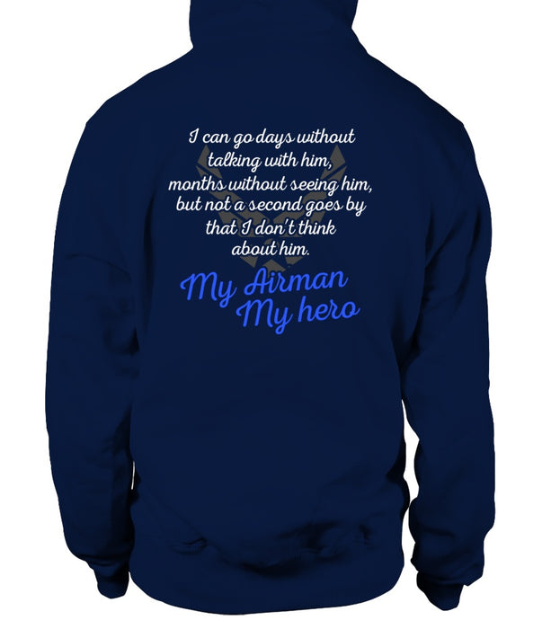 Air Force Mom Always Miss Him T-shirts - MotherProud