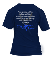 Air Force Mom Always Miss Him T-shirts