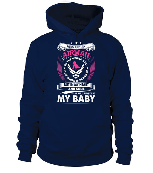 Air Force Mom Always My Baby T-shirts