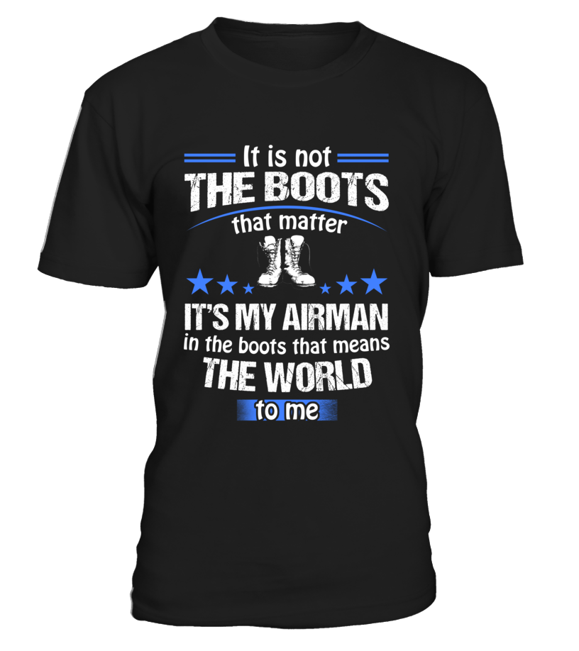 Air Force Mom Boots No Matter T-shirts - MotherProud