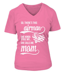 Air Force Mom Daughter Stole My Heart T-shirts