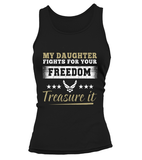 Air Force Mom Daughter Treasure It T-shirts - MotherProud