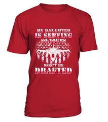 Air Force Mom Drafted Daughter T-shirts