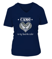 Air Force Mom Favorite Color T-shirts