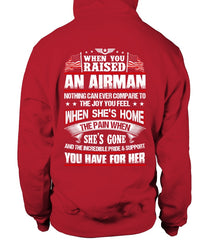Air Force Mom When You Raised Daughter T-shirts