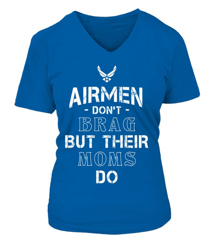 Air Force Moms Brag T-shirts