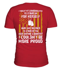 Army Grandparent Couldn't Be More Proud D T-shirts
