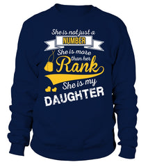 Army Marine Mom Daughter More Than Rank T-shirts