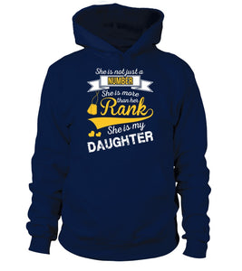 Army Marine Mom Daughter More Than Rank T-shirts - MotherProud