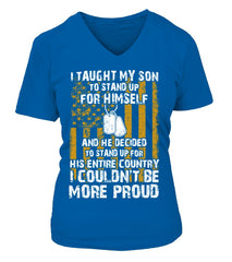 Army Mom Couldn't Be More Proud Front T-shirts