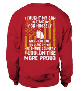 Army Mom Couldn't Be More Proud Sweatshirt - MotherProud