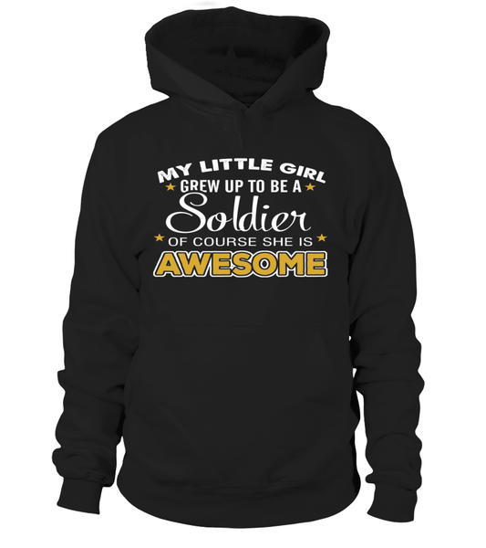Army Mom Daughter Awesome T-shirts