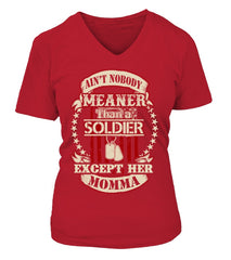 Army Mom Daughter Meaner T-shirts