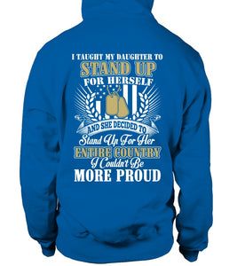 Army Mom Daughter More Proud Plus T-shirts - MotherProud