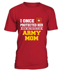 Army Mom Daughter Once Protect T-shirts