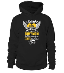 Army Mom Elite Family T-shirts
