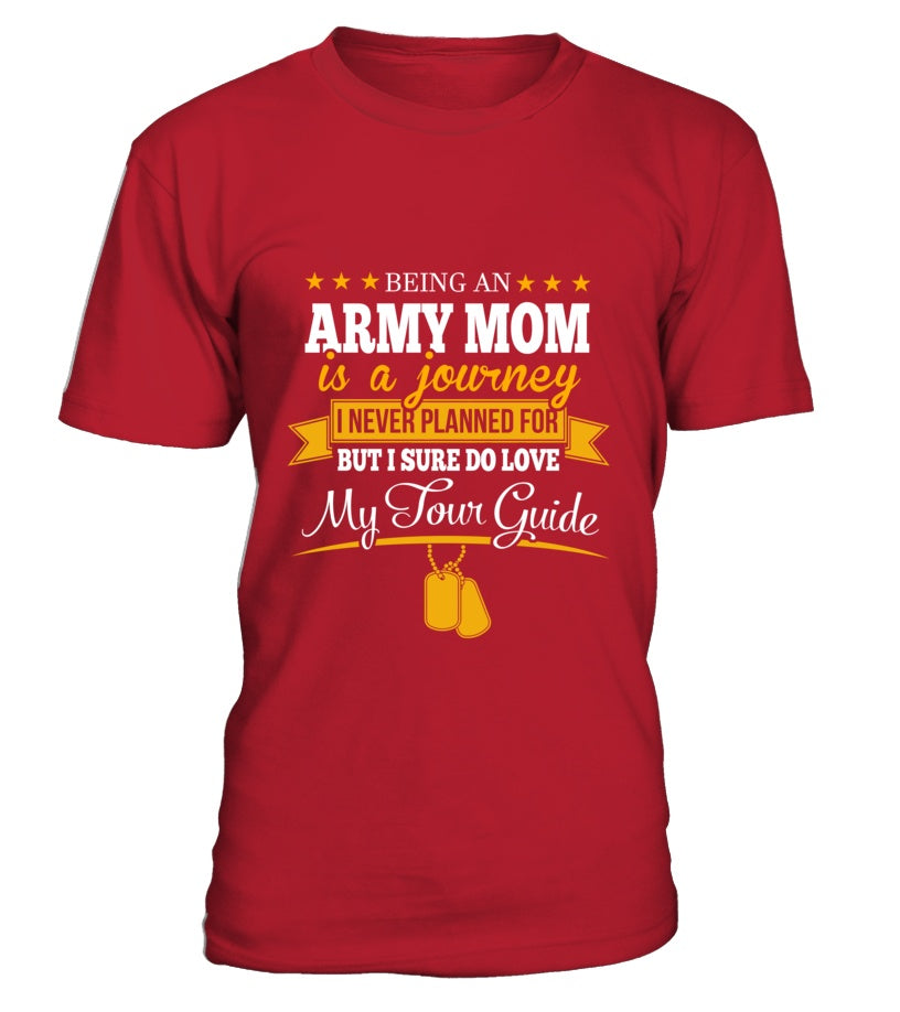 Army Mom Journey T-shirts - MotherProud
