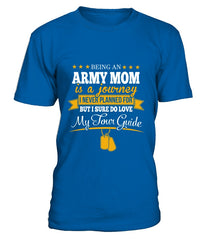 Army Mom Journey T-shirts