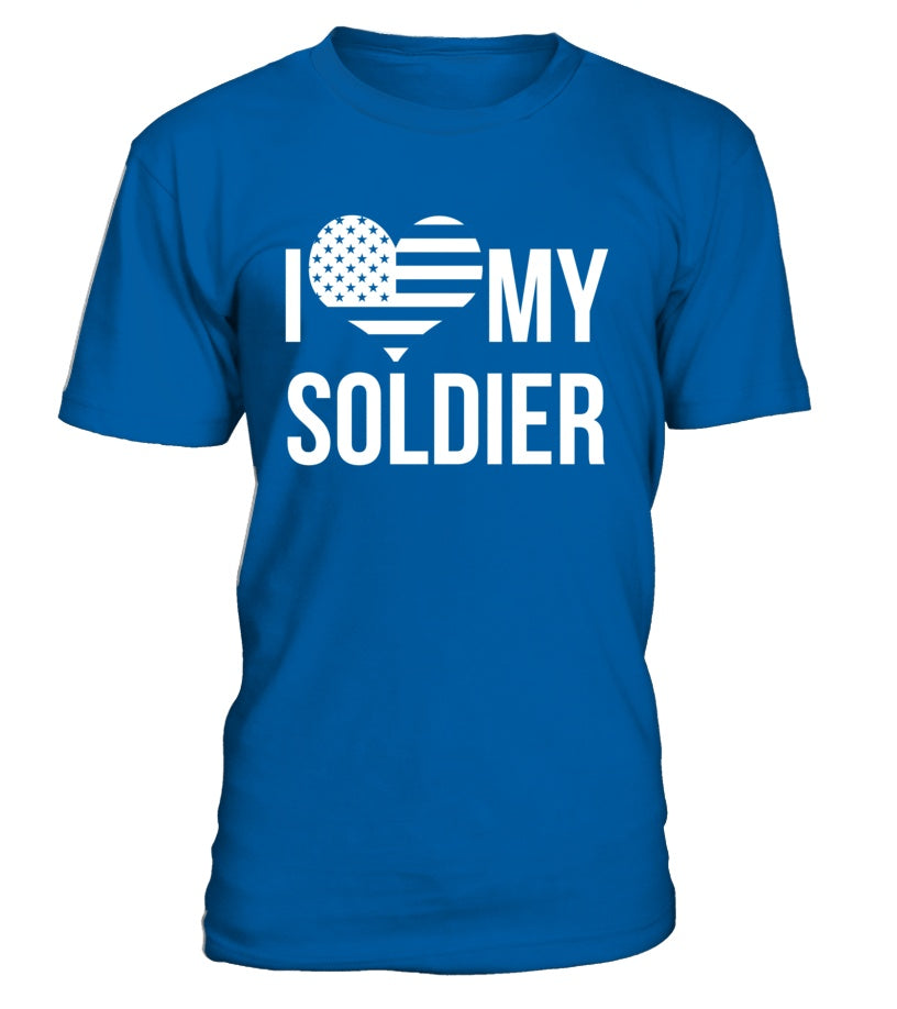Shirt - Army Mom Love My Soldier T-shirts