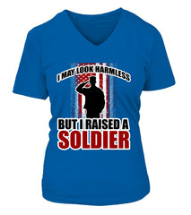 Army Mom Not Harmless T-shirts
