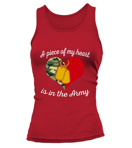 Shirt - Army Mom Piece Of My Heart T-shirts